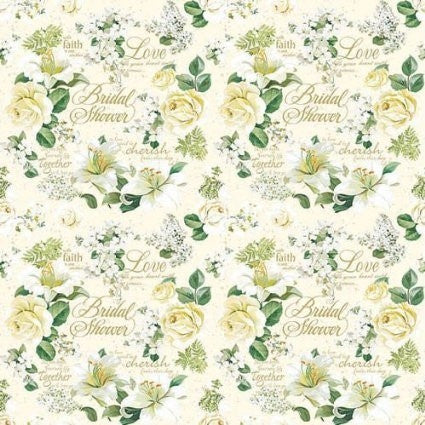 Cherished Bouquet Wrapping Paper