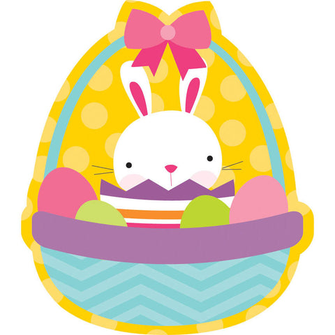 Bunny Basket Cutout