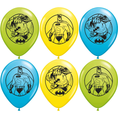 "12"" Batman Balloons (6ct)"