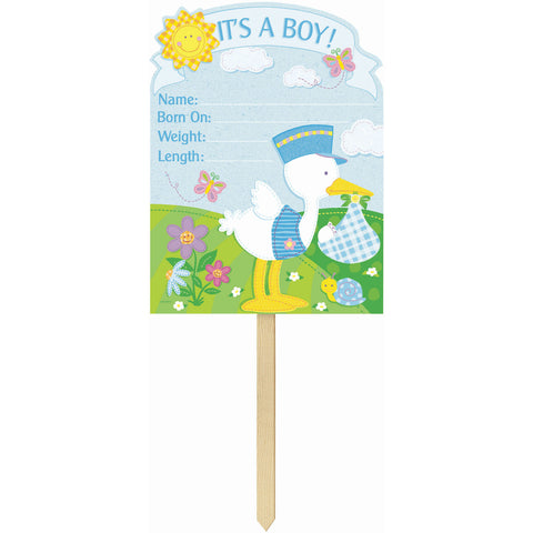 Bundle of Joy It's a Boy Yard Sign