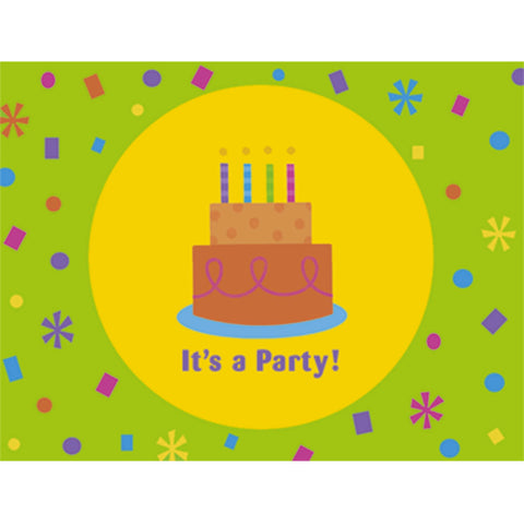 Birthday Fun Dots Invitations