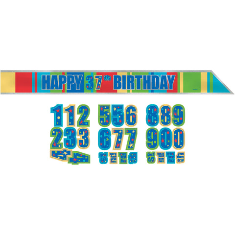 A Year To Celebrate Customizable Sash