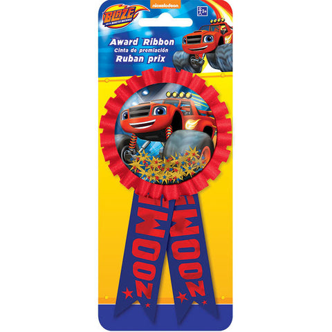 Blaze and The Monster Machine Confetti Pouch Award Ribbon