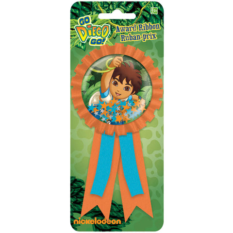 Diego's Biggest Rescue Award Ribbon