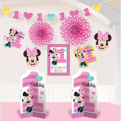 Minnie Fun To Be One Room Decorating Kit