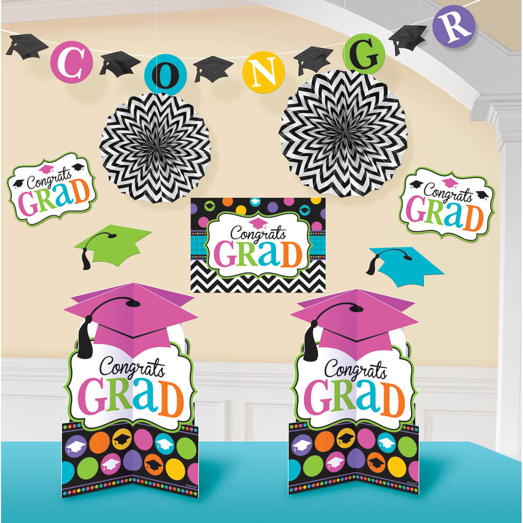 Dream Big Congrats Grad Room Decorating Kit