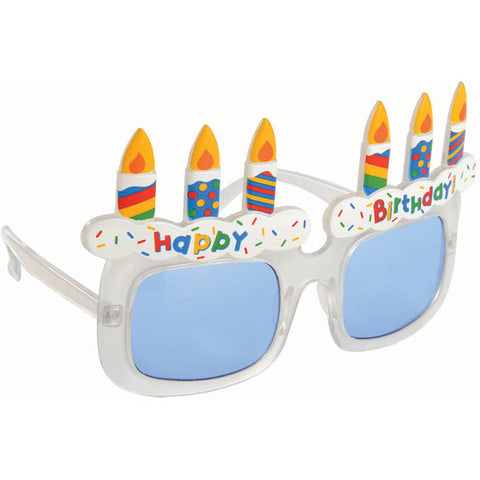 Birthday Cake Glasses