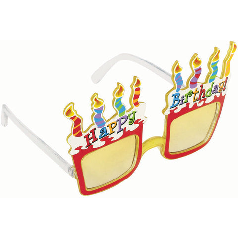 Birthday Cake Amazing Glasses