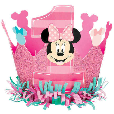 Minnie Fun To Be One Glittered Crown