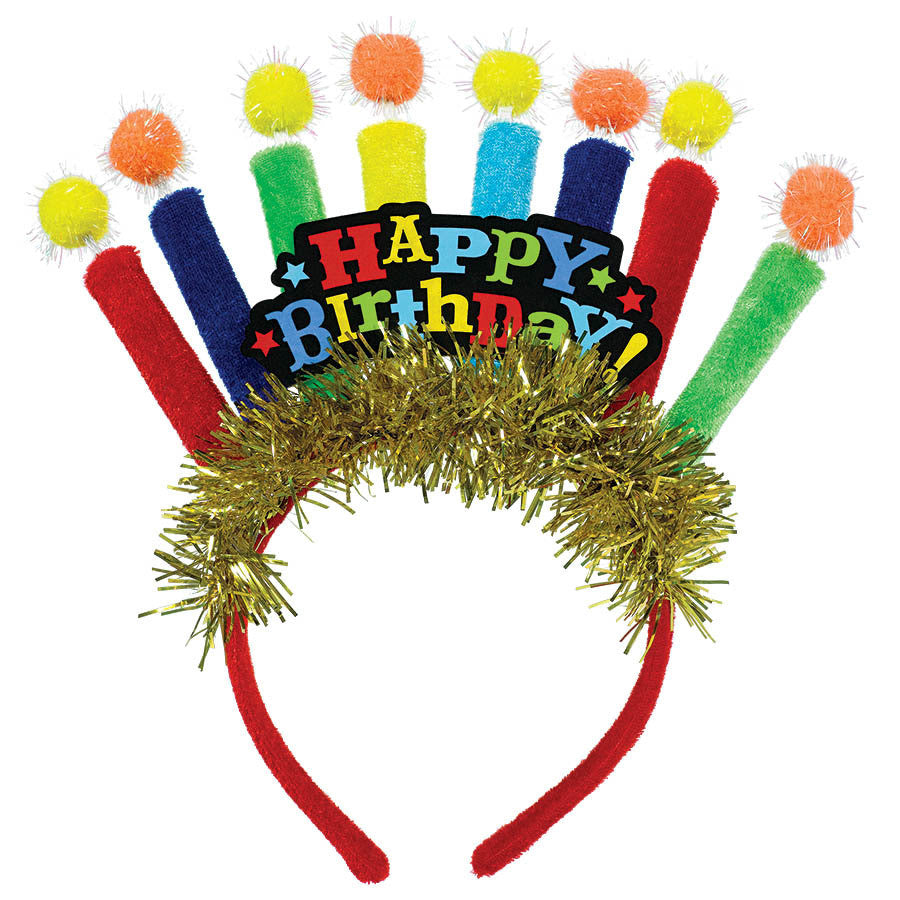 Birthday Candle Deluxe Headband