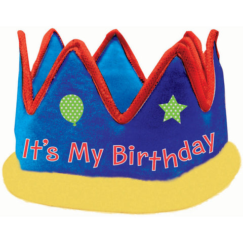 It's My Birthday Deluxe Crown