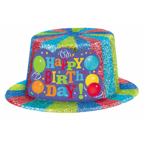 Birthday Fever Sparkle Top Hat