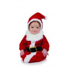 ad3c57bfa6c4c Santa Costume Deluxe Red Jacket Trousers Belt Hat Gloves and Boot ...