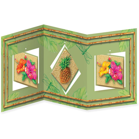 Centerpiece Acc, With Hng Pc Tahiti Tropics