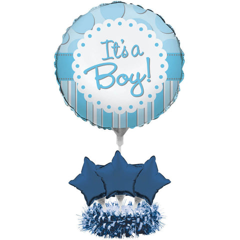 It's a Boy Centerpiece Kit