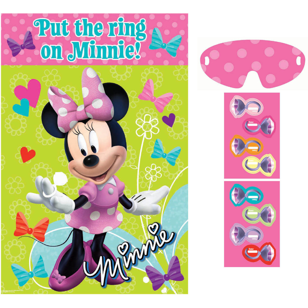 Pin the Ring on Minnie Game