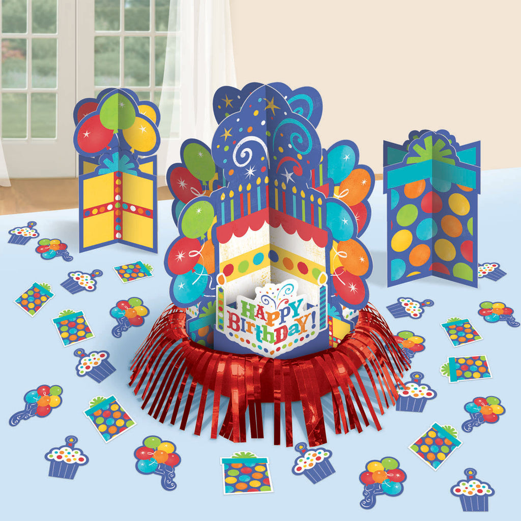 Birthday Fever Table Decorating Kit