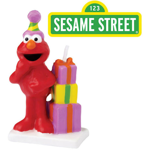 Elmo Molded Candle