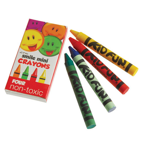 MINI SMILE CRAYONS/4-BX (Sold by Gross)