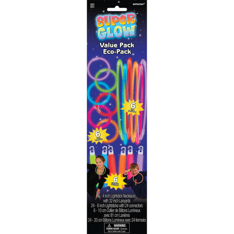 Value Pack Glow Sticks