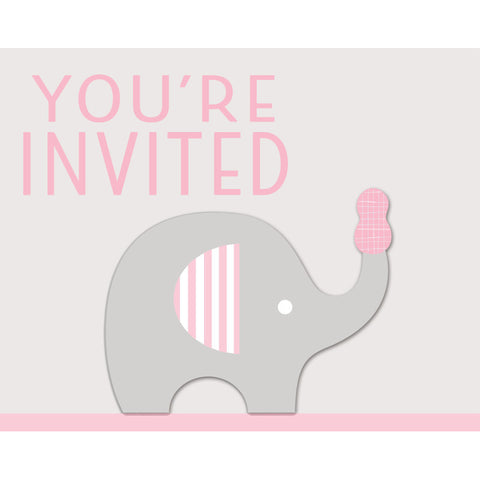 Little Peanut Girl Invitations (8 ct)