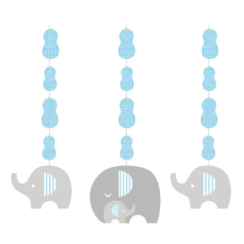 Little Peanut Boy Hanging Cutouts (3 ct)