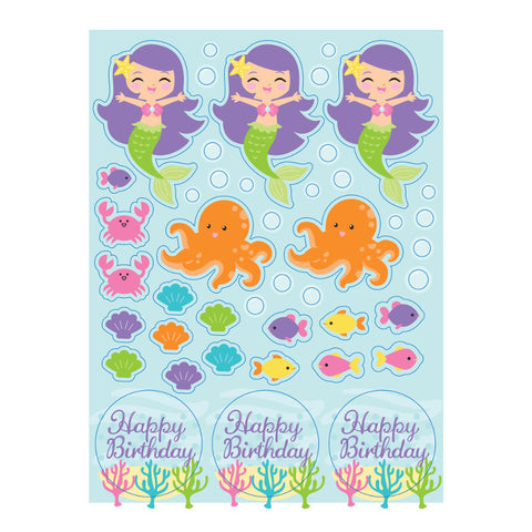Mermaid Friends Sticker Sheets (4ct)