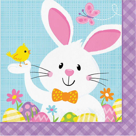 Bunny Business Luncheon Napkins (16 ct)