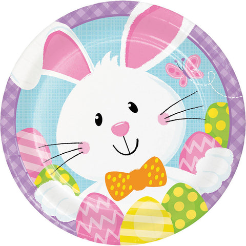 Bunny Business Dessert Plates (8 ct)