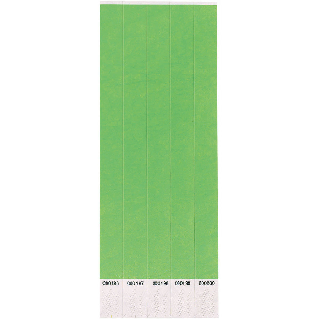 Lime Green Wristbands (250ct)