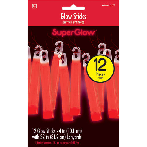 Red Glow Stick Necklaces
