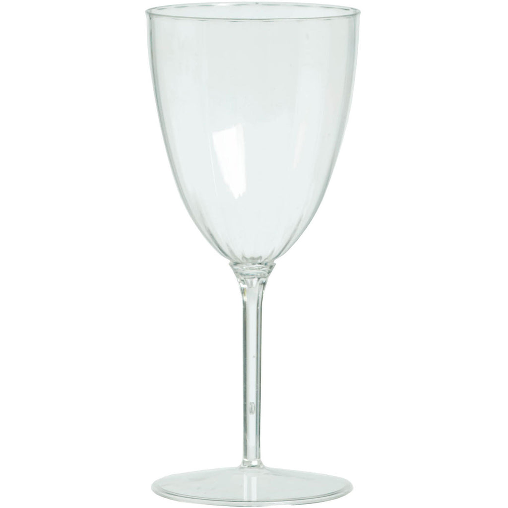 8 oz Clear Wine Goblet