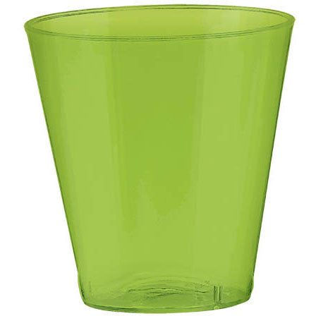 Kiwi 2oz Plastic Shot Glasses (100ct)