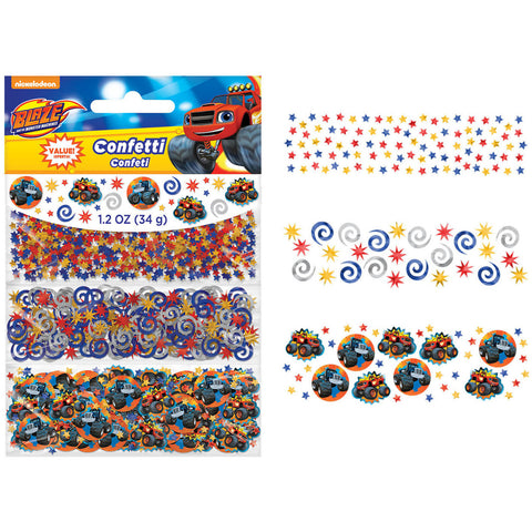 Blaze and The Monster Machines Confetti
