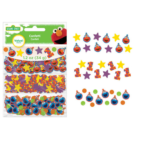 Elmo Turns One Confetti Pack