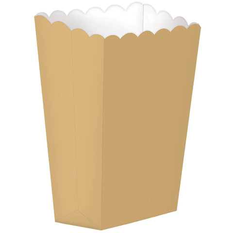 Gold Large Popcorn Boxes (10ct)