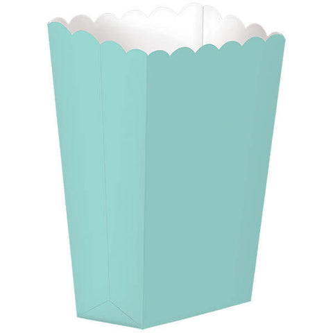 Robin's Egg Blue Small Popcorn Boxes (5ct)