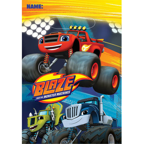 Blaze and The Monster Machines Loot Bags (8ct)