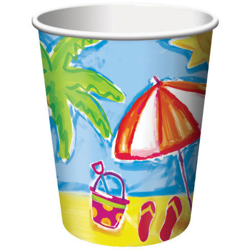 Beachy 9oz Cups (8ct)