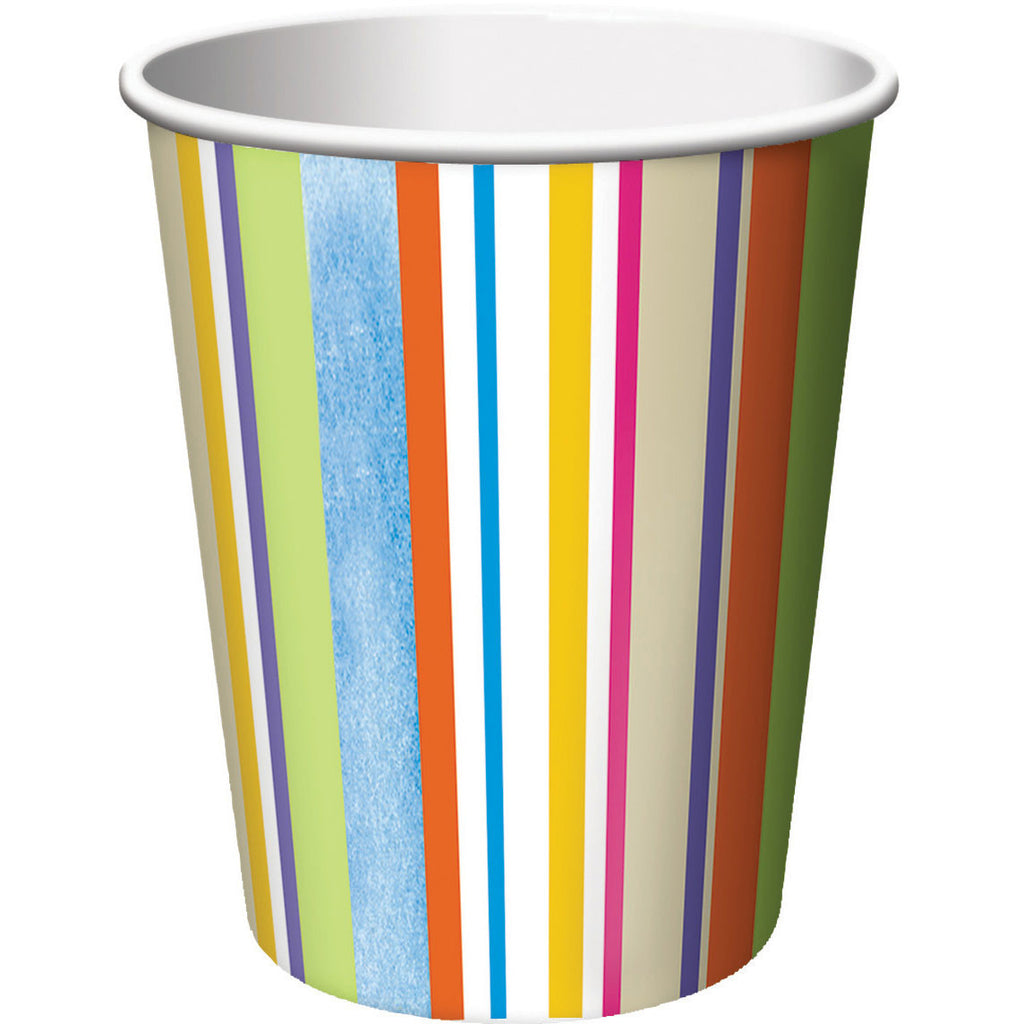Day At The Beach 9oz Cups (8ct)