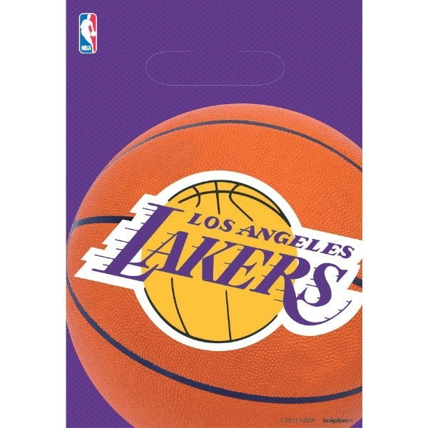 L.A. Lakers Loot Bag, 8 ct