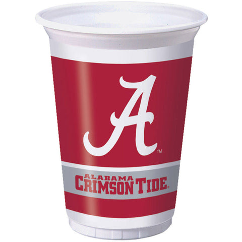 University of Alabama 20oz Plastic Cups (8ct)
