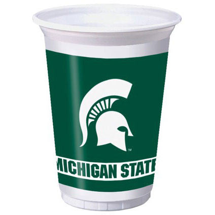 Michigan State University 20oz Plastic Cups (8ct)