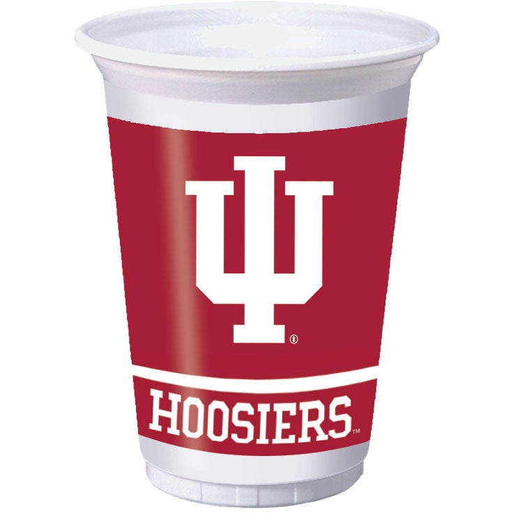 Indiana University 20oz Plastic Cups (8ct)