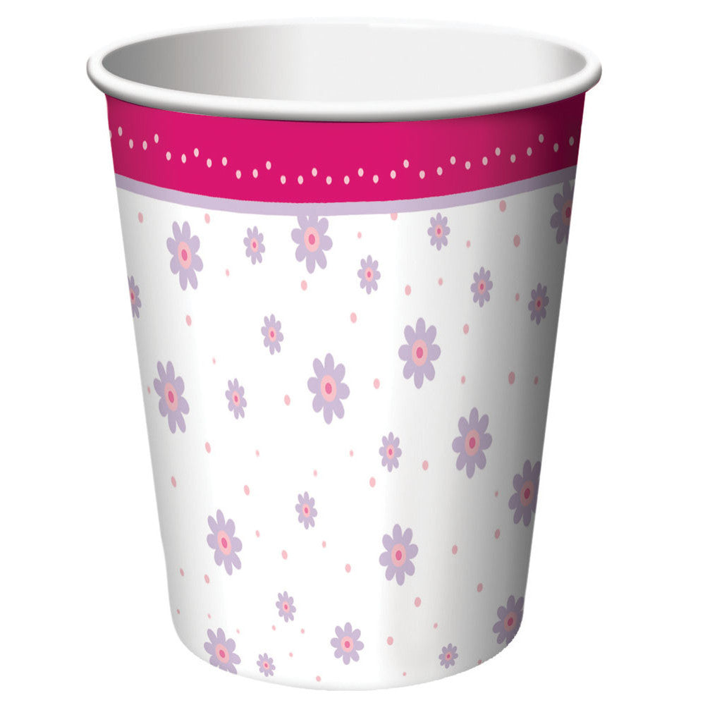 Tutu Much Fun 9oz Cups (8ct)