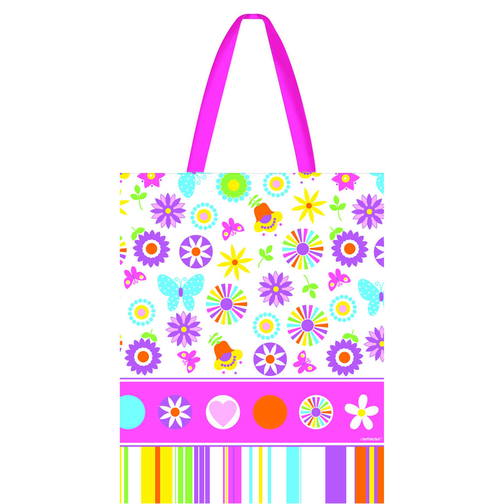 Funky Girl Large Handle Tote
