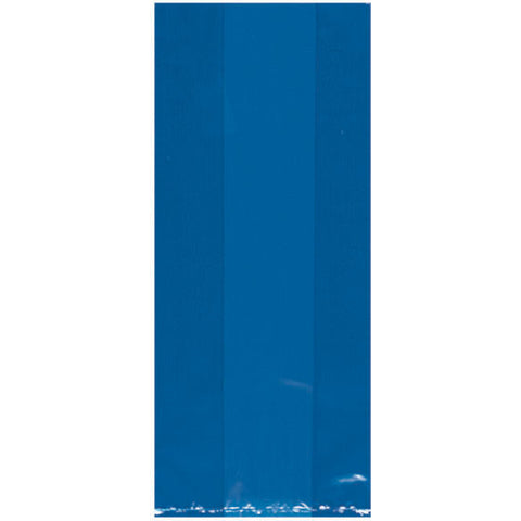 Bright Royal Blue Large Cello Bags (25ct)