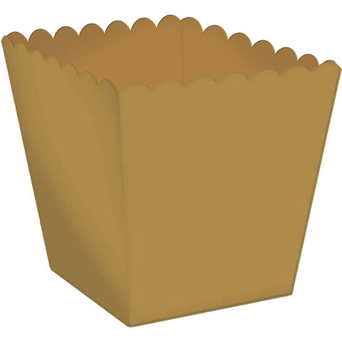 Scallop Favor Box - Gold Mega Pack