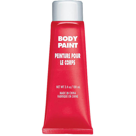 Red Body Paint Tube