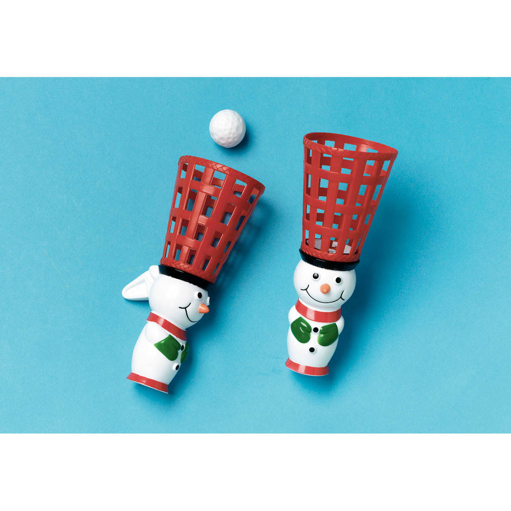Snowman Pop and Catch Game